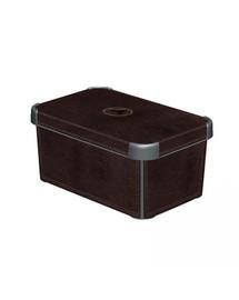 CURVER Deco Stockholm S Leather Dėžutė su dangteliu
