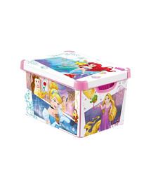 CURVER Deco Stockholm L Disney Princess Dėžutė su dangteliu
