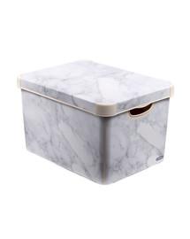 CURVER Deco Stockholm L Marble dėžutė su dangčiu Marmurinė