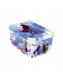 CURVER Deco Stockholm S Frozen 2 dėžutė su dangteliu Ledo šalis 2