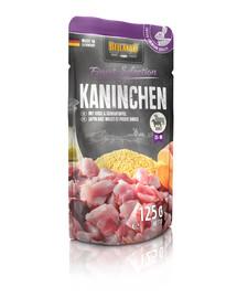 BELCANDO Finest Selection Triušis, soros ir bulvės 125 g šlapias šunų maistas