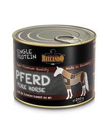 BELCANDO Single Protein arkliena 200 g šlapias šunų maistas