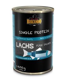 BELCANDO Single Protein lašiša 400 g šlapias šunų maistas