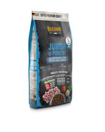 BELCANDO Finest Grain Free Junior Poultry M-XL 1 kg sausas maistas vidutinių ir didelių veislių šuniukams