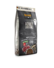 BELCANDO Adult Lamb & Rice 1 kg sausas maistas jautriems šunims ėriena ir ryžiai