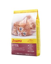 JOSERA Kitten 10 kg sausas maistas kačiukams ir nėščioms ar maitinančioms kačiukams + 2 paketėliai NEMOKAMAI