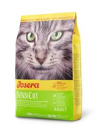 JOSERA SensiCat jautrioms katėms 10 kg + 2 NEMOKAMI paketėliai
