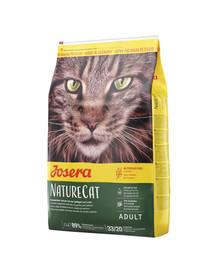 JOSERA Nature Cat maistas be grūdų katei 10 kg + 2 paketėliai NEMOKAMAI