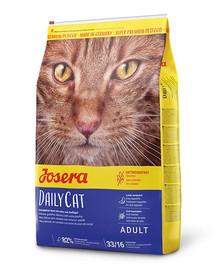 JOSERA Daily Cat 10 kg ėdalas be grūdų suaugusioms katėms + 2 paketėliai NEMOKAMAI