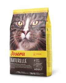 JOSERA Naturelle katėms po kastracijos 10 kg + 2 NEMOKAMI paketėliai