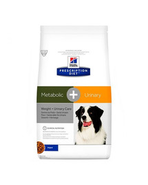 HILL'S PD Canine Dry Adult Metabolic + Urinary 2 kg