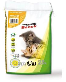 BENEK Super Corn Cat natūralus 25 l x 2 (50 l)