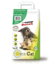 BENEK Super Corn Cat šviežia žolė  25 l x 2 (50 l)