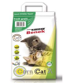 BENEK Super Corn Cat šviežia žolė 7 l x 2 (14 l)