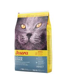 JOSERA Cat Leger neaktyvioms katėms ir 10 kg po kastracijos