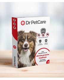 Dr PetCare MAX Biocide Collar Antkaklis nuo blusų ir vabždžių didelės veislės šuniui 75 cm 5 vnt.