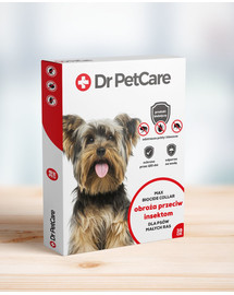 Dr PetCare MAX Biocide Collar Antkaklis nuo blusų ir vabždžių mažos veislės šuniui 38 cm 3 vnt.