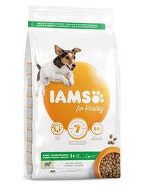 IAMS For Vitality Adult Small & Medium Breed Lamb 3 kg