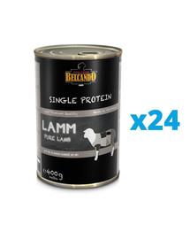 BELCANDO Single Protein ėriena 24x400 g šlapias šunų maistas