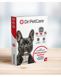 Dr PetCare MAX Biocide Collar Antkaklis nuo blusų ir vabždžiųvidutinės veislės šuniui 60 cm 3 vnt.
