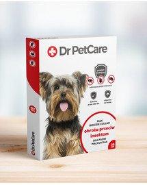 Dr PetCare MAX Biocide Collar Antkaklis nuo blusų ir vabždžių katėms mažos veislės šuniui 38 cm 5 vnt.