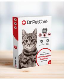 Dr PetCare MAX Biocide Collar Antkaklis nuo blusų ir vabždžių katėms 42 cm 5 vnt