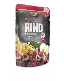 BELCANDO Finest Selection Jautiena su kukuliais ir cukinijomis 6x300 g šlapias šunų maistas