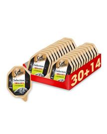 SHEBA Selection in Sauce su triušiu 44 x 85 g (30 + 14 nemokamai)