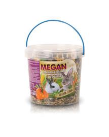 MEGAN Natūralus maistas triušiui 1l/500g
