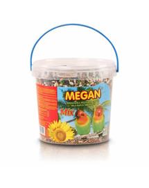MEGAN Maistas vidutinėms papūgoms1l/650g