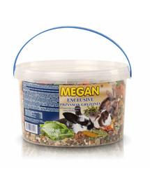 MEGAN Exclusive užkandžiai graužikams  3l/1110g