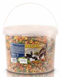MEGAN Exclusive užkandžiai graužikams 10l / 3,7kg