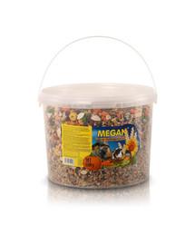 MEGAN Pagrindinis maistas graužikams ir triušiams 10l/5,5kg