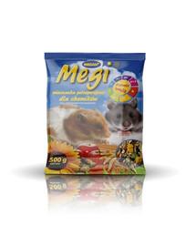 MEGAN Megi Maistas žiurkėnui  500g