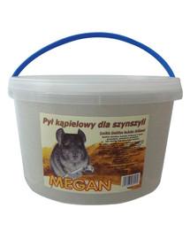 MEGAN Šinšilų vonios dulkės 3l/5kg