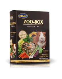 MEGAN Zoo-Box jūrų kiaulytėms 550g visavertis mišinys