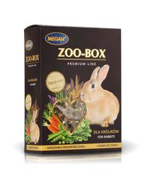 MEGAN Zoo-Box triušiui 420g visavertis mišinys
