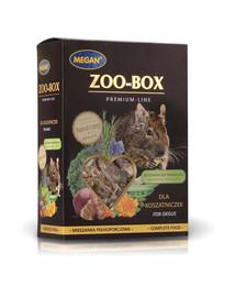 MEGAN Zoo-Box degu 420g visavertis mišinys