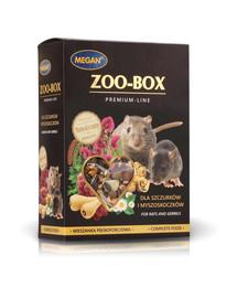 MEGAN Zoo-Box žiurkėms ir smiltpelėms 550g visavertis mišinys