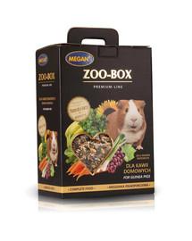 MEGAN Zoo-Box jūrų kiaulytėms  4x550g visavertis mišinys