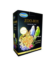 MEGAN Zoo-Box Premium Line banguotoms papūgoms 750gvisavertis mišinys