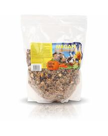 MEGAN Pagrindinis maistas graužikams ir triušiams 3l/1650g maišas