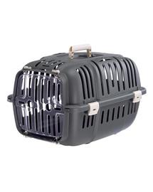 FERPLAST Jet 10 Transporteris katėms ir mažiems šunims 32x47x29 cm pilkas