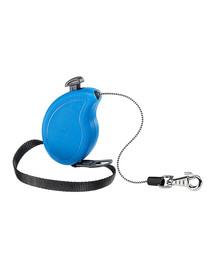 FERPLAST Flippy One Cord Mini Automatinis pavadėlis virvinisa 3 m mėlynas