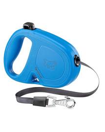 FERPLAST Flippy One Tape S Automatinis pavadėlis juostinis 4 m mėlynas