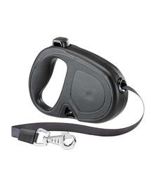 FERPLAST Flippy One Tape M Automatinis pavadėlis juostinis 5m juodas