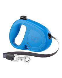 FERPLAST Flippy One Tape M Automatinis pavadėlis juostinis 5 m mėlynas