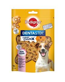 PEDIGREE Dentastix Chewy ChunX Mini 5 x 68g –dantų skanėstai suaugusiems vidutinių ir mažų veislių šunims