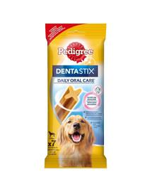 PEDIGREE DentaStix (didelių veislių) dantų skanėstas šunims10x270g