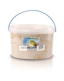 MEGAN Smėlis su mineralais paukščiams 3l/5kg